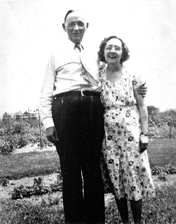 Edgar Cayce with his wife Gertrude