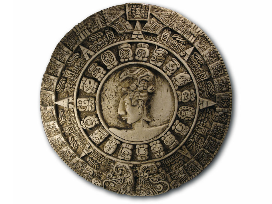 The famous Mayan calendar, that ended (and started again) on the 21st of December, 2012