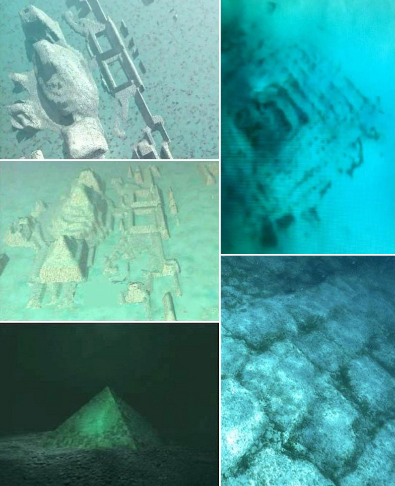 During the past few decades, various diving expeditions in the Caribbean have found odd structures under water. For example, near the Bahamian island Bimini, megalithic walls and roads of hundreds of metres long were found, among other things. The roads were laid on a carefully constructed foundation, and could therefore definitely not have originated naturally. Contours of pyramids could be seen too. Sonar images and photos were taken. However, when they tried to share their discovery with the world, science and the media were barely interested and they were even actively sabotaged by the authorities to undertake follow-up expeditions