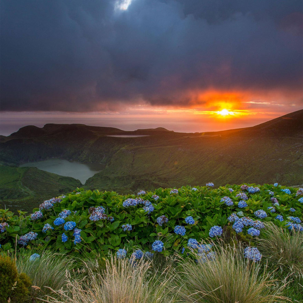 Sunset on the Azores