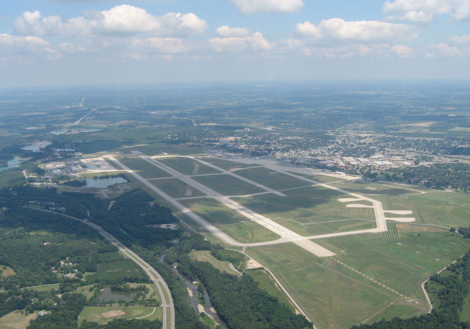 The Wright Patterson Air Force Base in Ohio